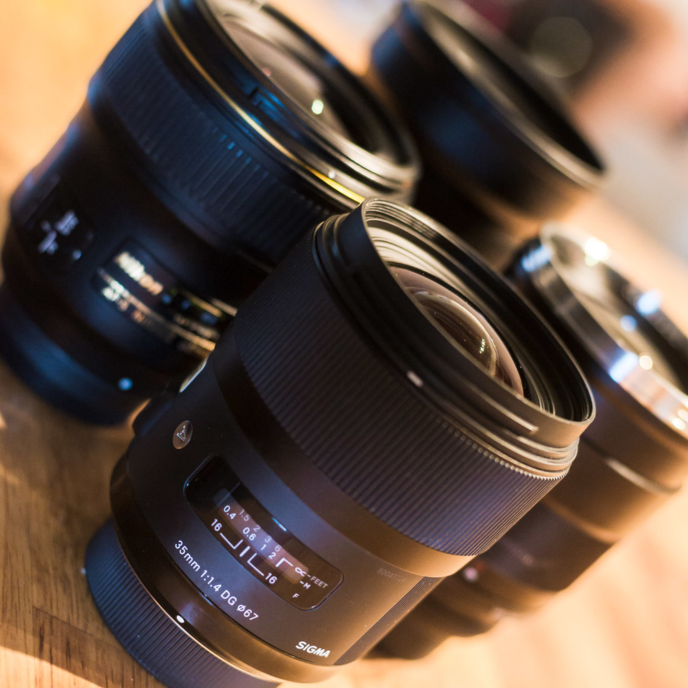 35mm f/1.4 Lenses Compared for Night Photography